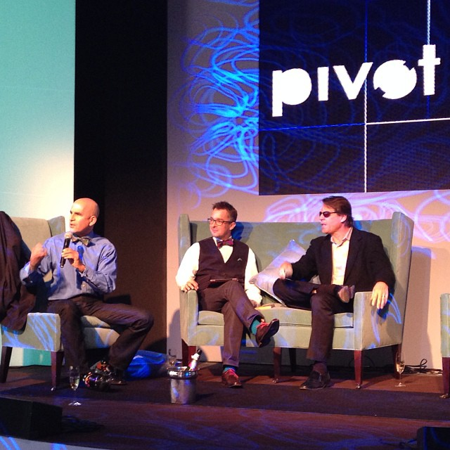 Bow Ties, Buzz and The Pivot Conference in NYC!