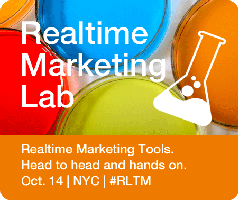 Real Fun, Real Information at the 'Realtime Marketing Lab' in NYC