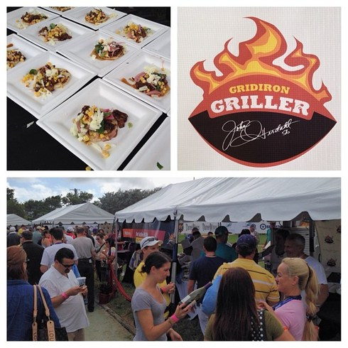 Lots BUZZ at the 2013 Gridiron Grill-Off