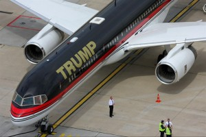 VIP Tour Inside Donald Trump's 757 Airplane
